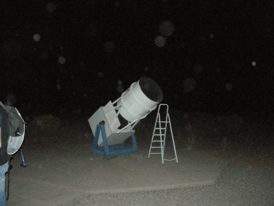 One of the telescopes