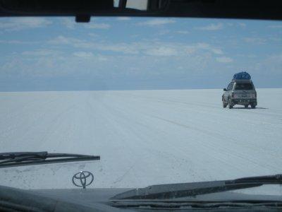 Salar de Uyuni- 22 000 km^2