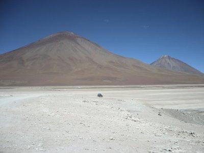 Sand, salt and volcanos