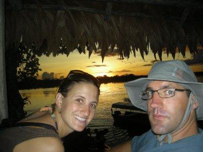 Seth enjoying the Sunset