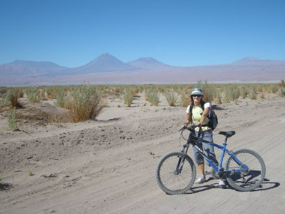 The Andes, riding to Laguna Cejar