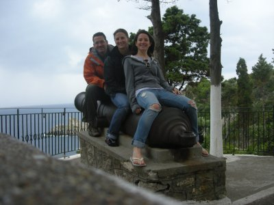 The cannon at the monastry