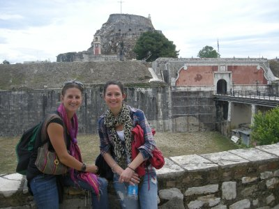 The old fort and young ladies