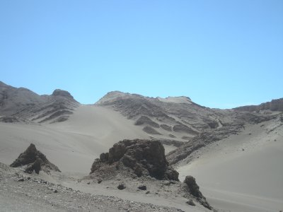 Valle de Luna- smooth sand