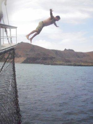Seth jumping