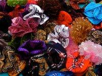 scrunchies in the Kadıköy Salı Pazarı