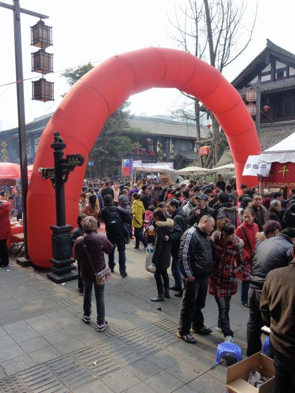 Street scene--Spring festival