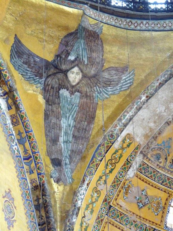 angel on church