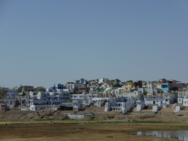 Pushkar and the dry lake