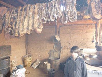 Remote village kitchen