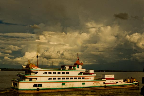 Boat from Pucalpa to Iquitos