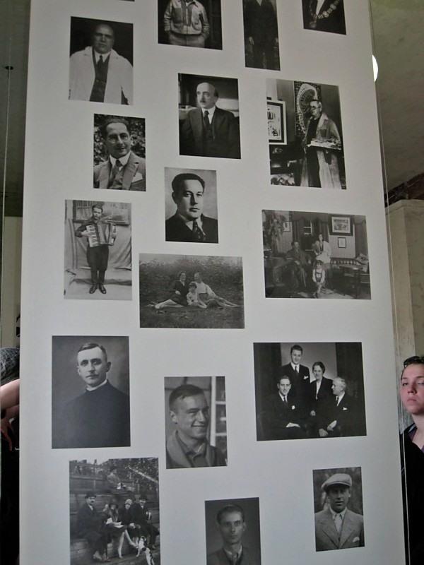Photos of a few of the prisoners before they came to Dachau.