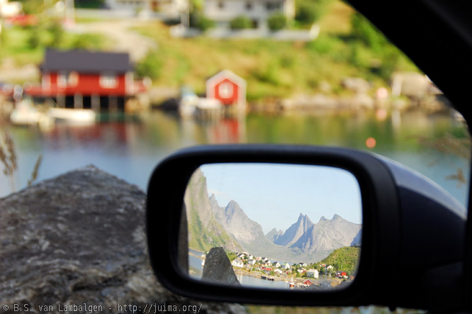 360° beauty at Reine, in the Lofoten