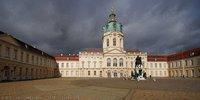 Schloss Charlottenburg catching the light