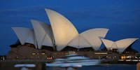 Opera House at dusk