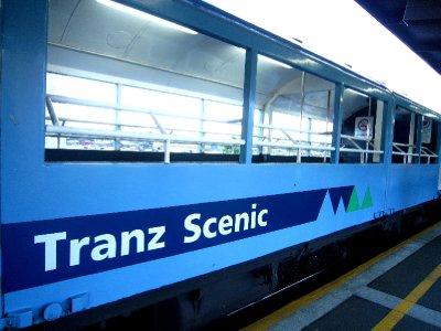 Tranzcoastal train to Picton