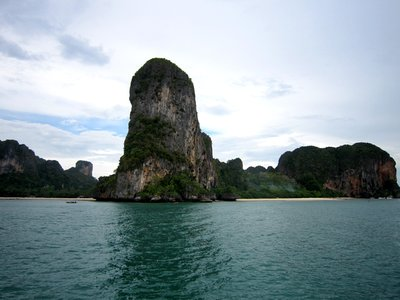 Arriving into Railay on the ferry