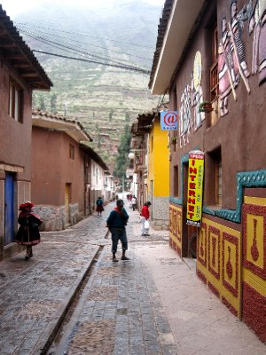 Streets of Pisac