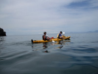 Alberto with the kayak guide