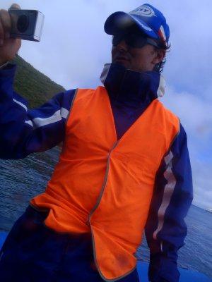 Our skipper Joel