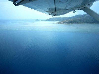 landing on the sea