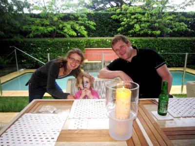 Helen, Eric and Evangeline, Aussie barbie