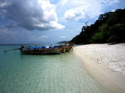 Random island in Tarutao national park, snorkelling trip