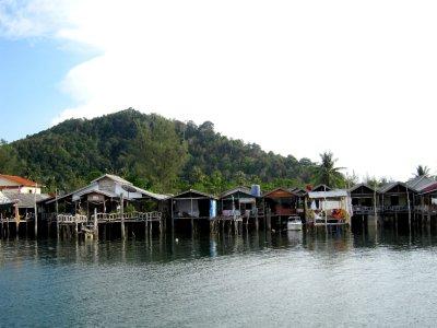 Koh lanta near the pier
