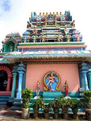 Hindu temple on top of Penang Hill
