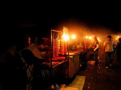 Filipino market, interesting sights, tastes and smells!