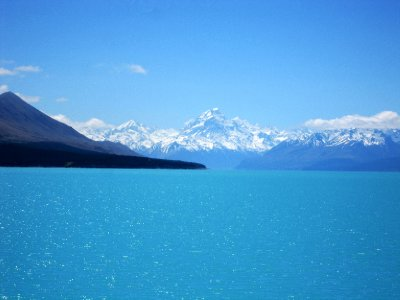 Lake Pukaki and Mount Cook