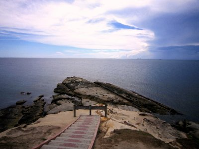 The tip of Borneo