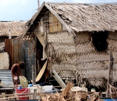 Mabul Island village