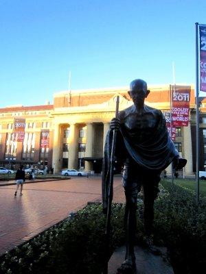 Gandhi statue, Wellington
