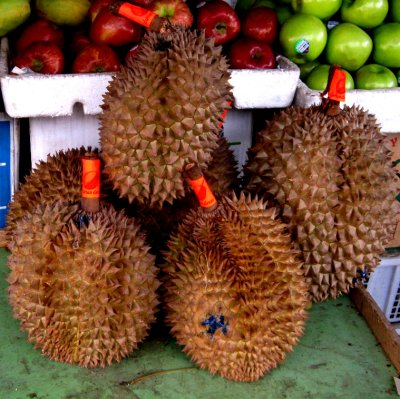 Durian yikes!