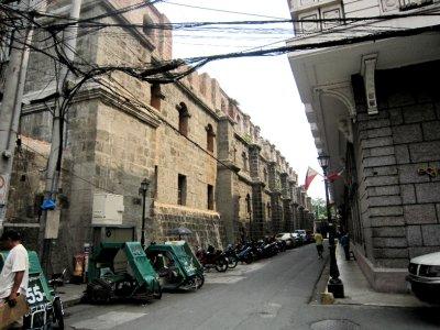 Intramuros, walled city