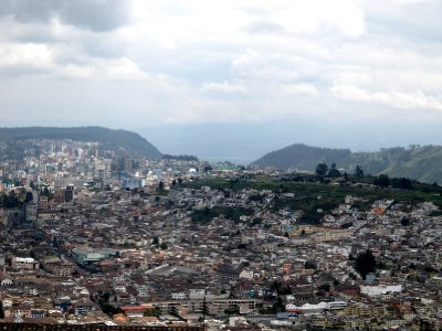 View of Quito from Panecillo
