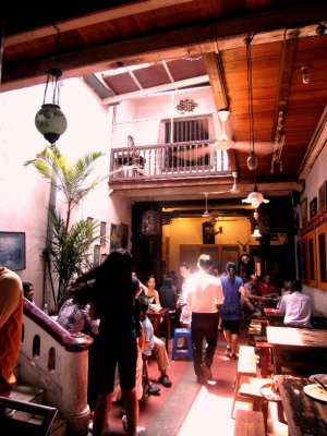 Fav restaurant in old colonial building
