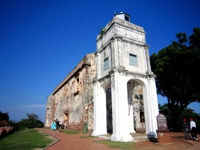St Pauls church ruins
