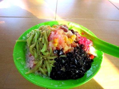 Cendol minus Malacca sauce