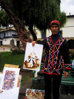 Another day another colourful market in Cusco