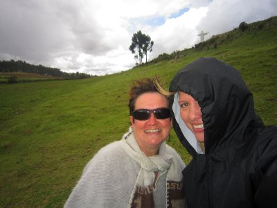The weather turned at cristo blanco