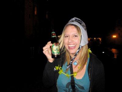 Coca beer on NYE, Feliz anos Nuevo!