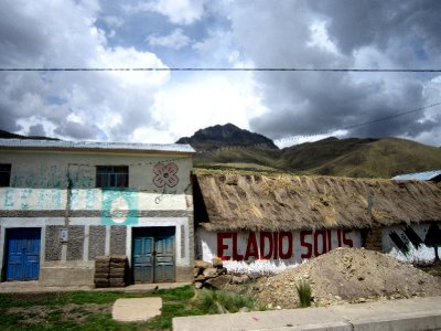 Somewhere in the Andes on the way to Lake Titicaca