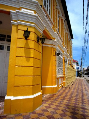 French colonial buildings