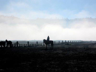 pony trek to the crater