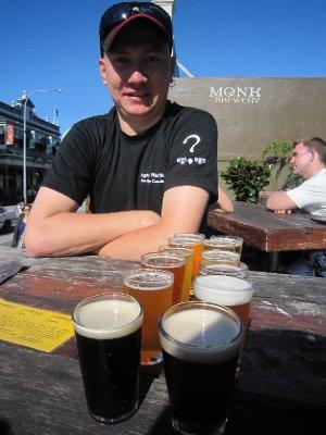 Beer tasting in Fremantle