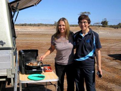 Aussie BBQ in the bush