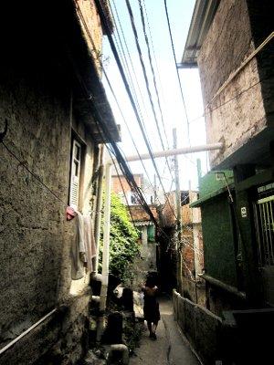 Rocinha favela, Rio