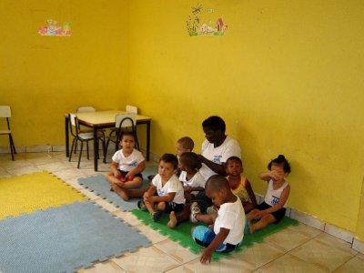 Orphanage, Rocinha favela, Rio